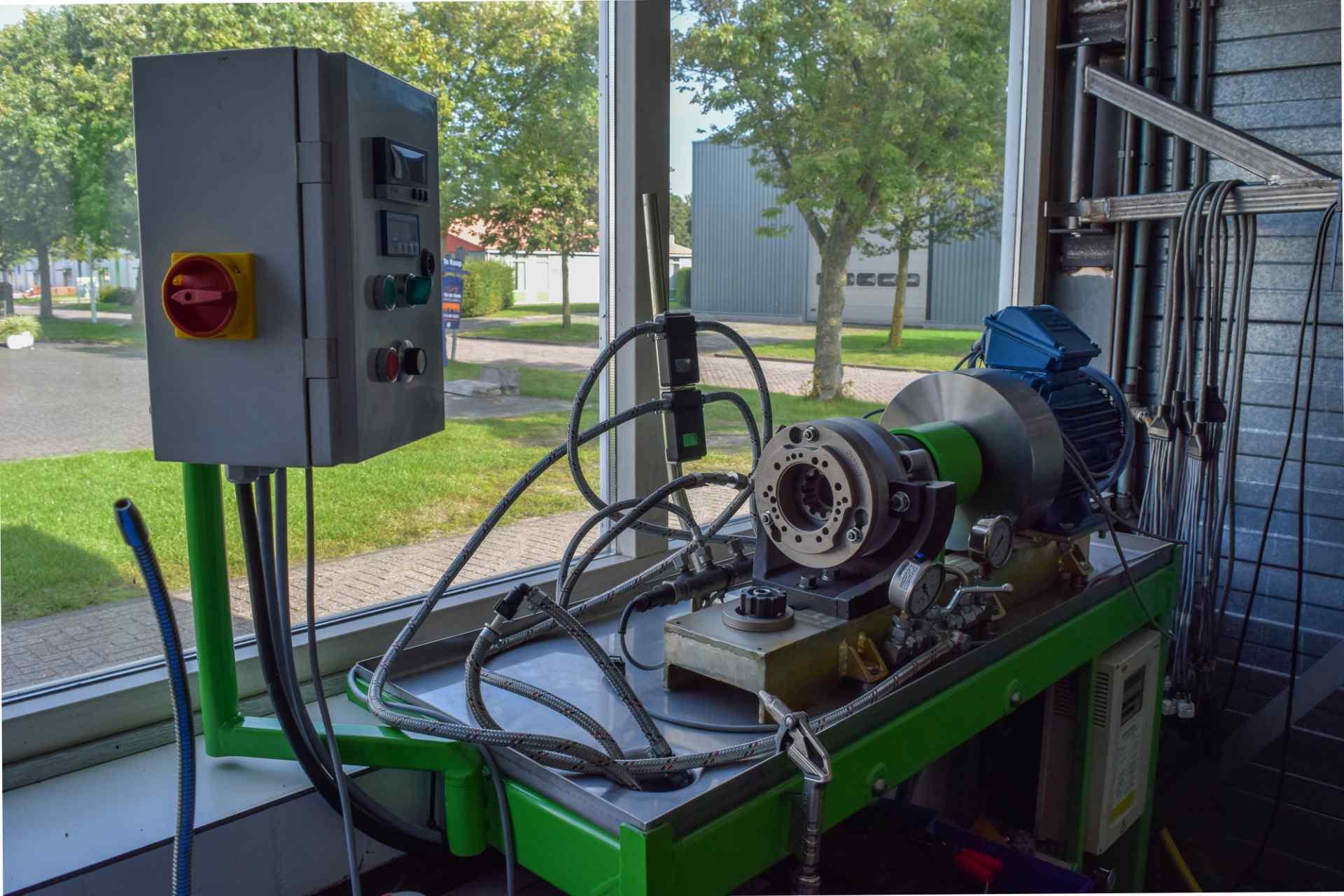 Goede Brandstofpomp & Verstuivers testen | Automotoren Revisie – Postma TX-44