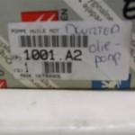 Peugeot 807 2.2HDI code : 9805211380