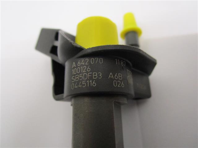 Mercedes 3.0CDi V6 code : 0445116026 / 0445116025 (gebruikt)