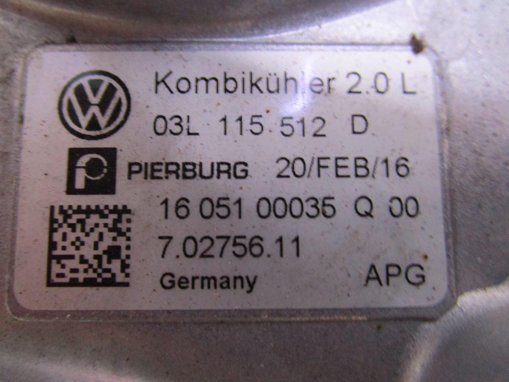 Vw T6 2.0TDi code : CFC  03L115512D / 7.02756.07.0 (Nieuw)