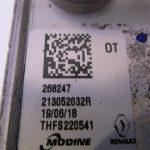 Renault 1.2TCe nr : 231052032R