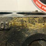 Mercedes 180D code : 636.932 kaal blok
